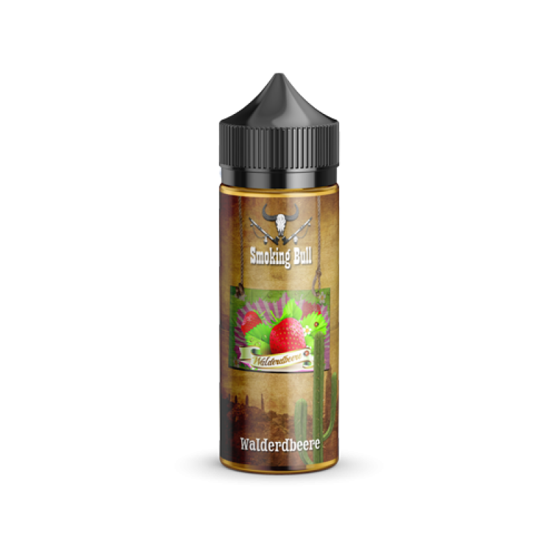 Shake and Vape Smoking Bull - Walderdbeere 100ml 7...