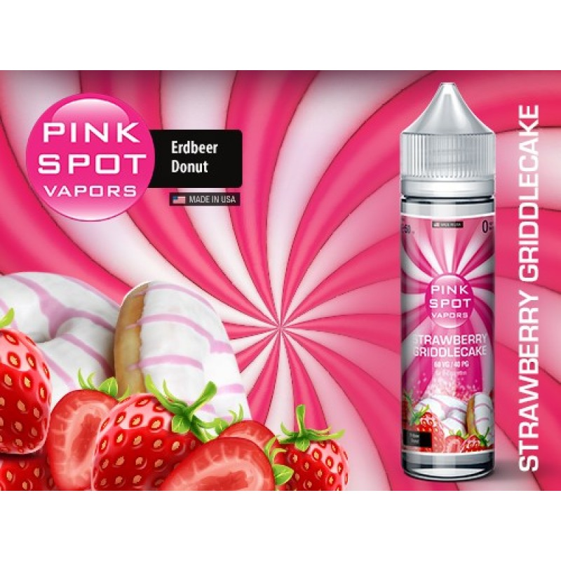 Shake and Vape Pink Spot - Strawberry Griddlecake ...