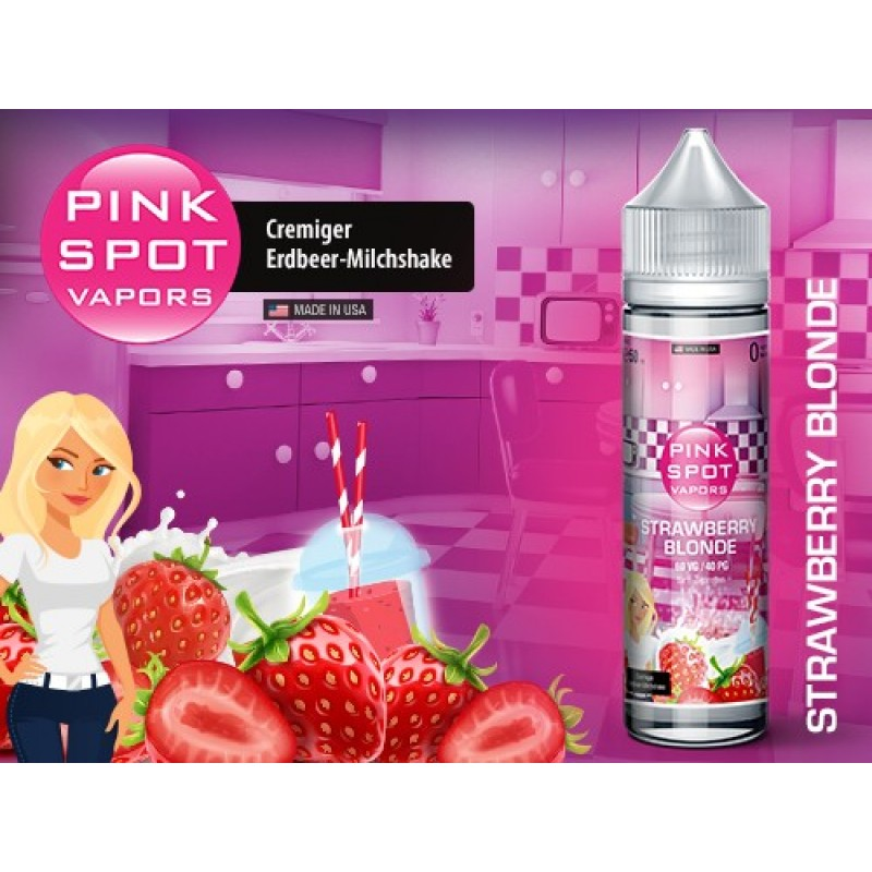 Shake and Vape Pink Spot - Strawberry Blonde 50ml ...