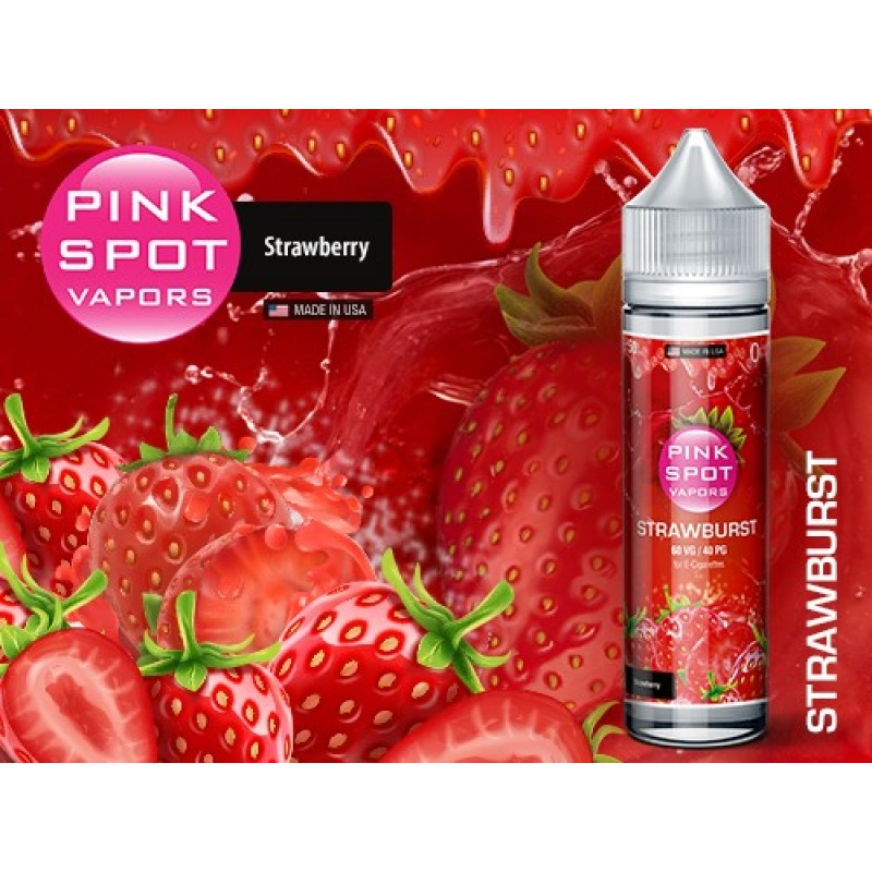Shake and Vape Pink Spot - Strawburst 50ml 60VG/40...