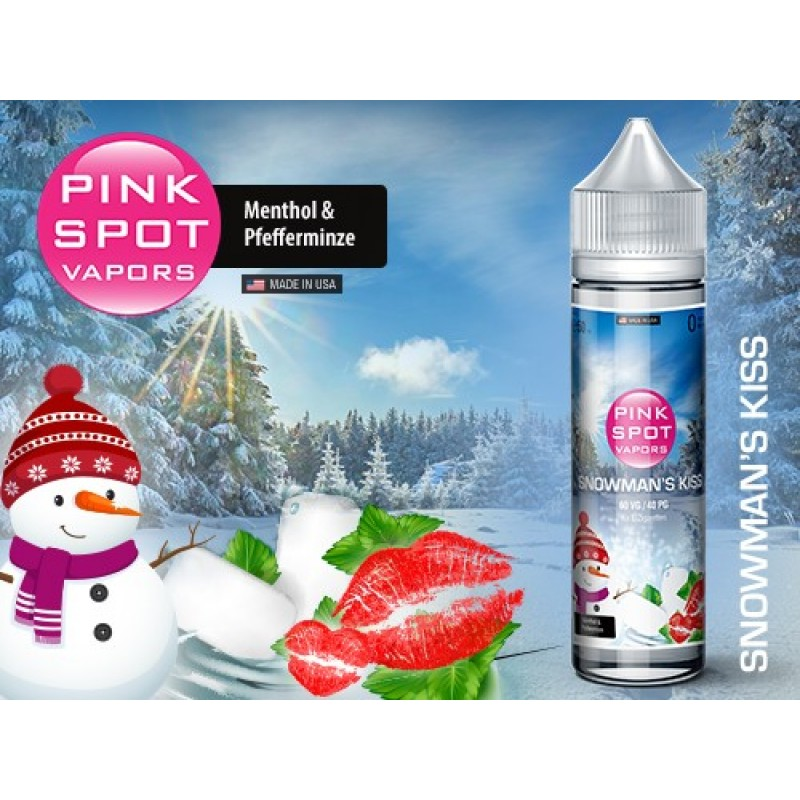 Shake and Vape Pink Spot - Snowman's Kiss 50ml 60V...