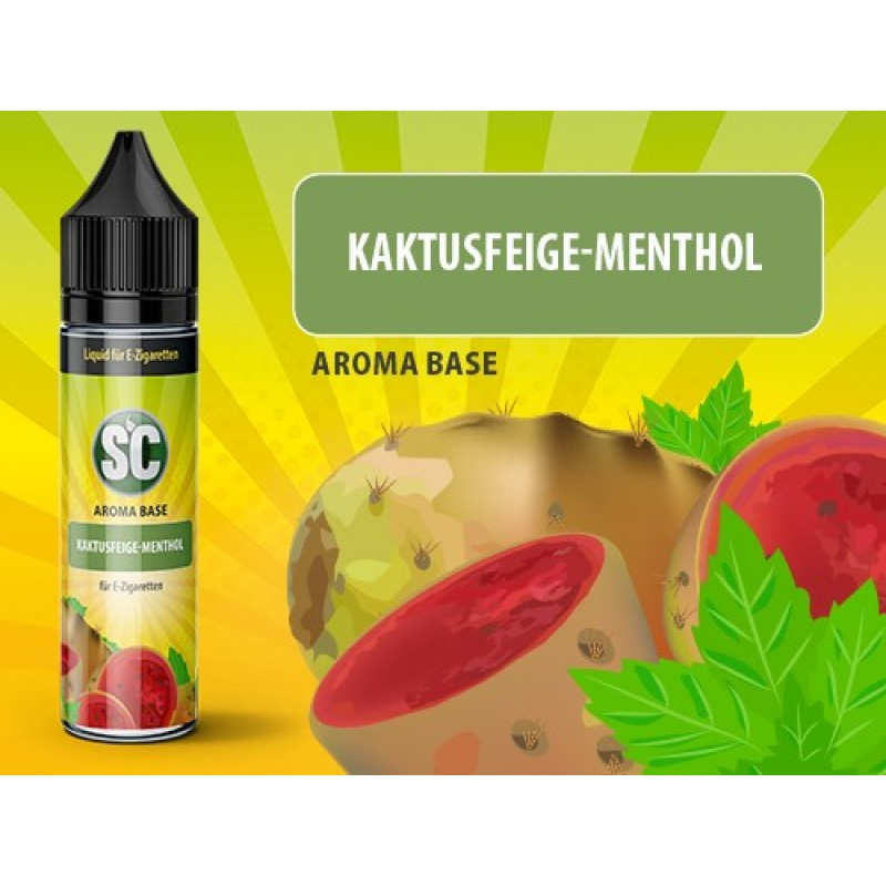 Shake and Vape SC - Kaktusfeige-Menthol 50ml 80VG / 20PG