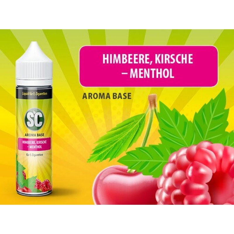 Shake and Vape SC - Himbeere, Kirsche-Menthol 50ml...