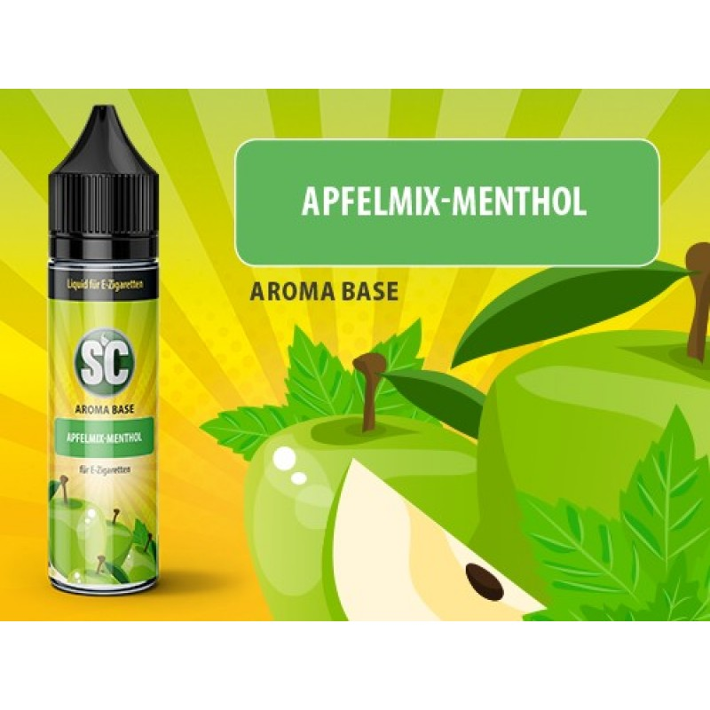 Shake and Vape SC - Apfelmix-Menthol 50ml 80VG / 2...